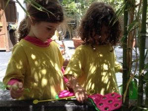Spring GG Room Selene Girls in Garden